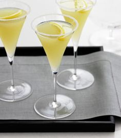 1 - 1 1/2 oz Absolut® Citron vodka  1 - 1 1/2 oz limoncello lemon liqueur  2 oz sweet and sour mix  1 - 1 1/2 ozfresh lemon juice  1 tsp sugar    Combine ingredients in a cocktail shaker half-filled with ice cubes; shake well. Swirl half a lemon around the rim of a margarita glass and dip in sugar. Pour the contents of the cocktail shaker into the glass, and serve.      Read more: Lemon Drop Martini #2 recipe http://www.drinksmixer.com/drink10723.html##ixzz1v6OcW07r