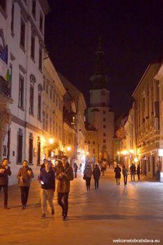 BRATISLAVA BY NIGHT FREE TOUR - WelcomeToBratislava | WelcomeToBratislava