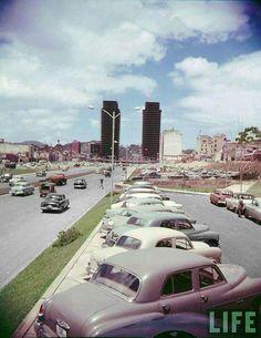 Caracas Venezuela in 1954