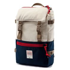 TOPO X WOOLRICH ROVER PACK - NAVY/NATURAL