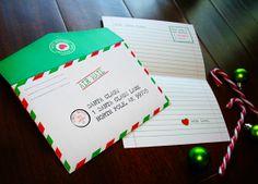 Free Santa Letter printable