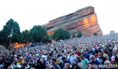 Phish show at Red Rocks, CO.