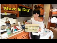 RV Move In Day 3 ~ Fitting The Bed ~ RV Organizing & Details About Organizers - YouTube