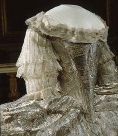 Bodice of Sofia Magdalena's Wedding Gown, circa 1766
