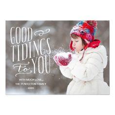 Good Tidings | Holiday Photo Card