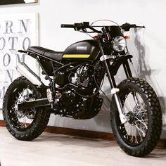BORNco Custom Scrambler, based on the Triumph Platform - Ducati Scrambler, Scrambler Motorcycle, Cool Motorcycles, Bobber, Cbx 250, Alfa Romeo Cars, Bmw Series, Street Tracker, Motorcycle Design