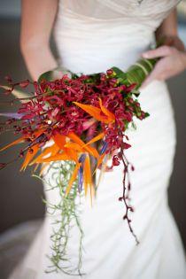 15 Ideas For Bird Of Paradise Wedding Bouquet Bridesmaid Dresses Bird Of Paradise Wedding, Wedding Birds, Floral Wedding, Wedding Flowers, Informal Weddings, Simple Weddings, Garden Wedding, Dream Wedding, Alternative Bouquet