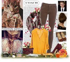 """Cats ;3"" by greenperl ❤ liked on Polyvore"