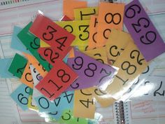 Comparing and Ordering Numbers- get out of your seat game