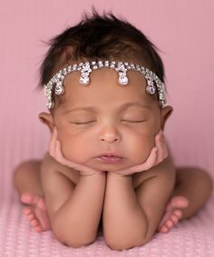 Look at this The Tiny Blessings Boutique Silver & Pink Rhinestone Teardrop Flower Headband on today! Flower Girl Headbands, Feather Headband, Bridal Headbands, Bridal Veils, Baby Bling, Baby Bows, Beautiful Children, Beautiful Babies, Adorable Babies