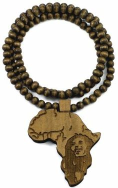 Good Wood Goodwood 36 Inch Brown Africa All Wood Style Replica Pendant Necklace Bob GWOOD. $9.90. Light Weight. Pendant Measures 3 1/2 Inches Tall By 3 Inches Wide. Carved Face. Clear Detail And Smooth Back. Africa Natural Wood Pendant Beaded Necklace