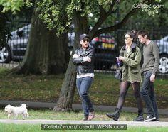 Daisy Lowe http://www.icelebz.com/events/daisy_lowe_takes_a_walk_with_friends_through_primrose_hill_park/photo1.html