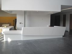 reception desk | Corian Reception Desk & Counter « CJEM Worksurfaces – Corian ...