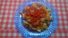 Brassói picit felturbozva Spider Girl, Fruit Salad, Pork, Red Peppers, Kale Stir Fry, Fruit Salads, Pigs