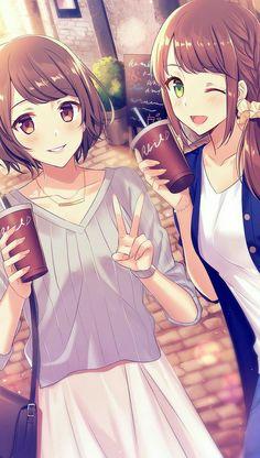 Your character in the anime! [Ragazze] - Inazuma Eleven Horoscope - Your . - Your character in the anime! [Girls] – Inazuma Eleven Horoscope – Your character in the anime! Anime Siblings, Anime Sisters, Anime People, Anime Guys, Manga Anime, Yuri Anime, Friend Anime, Anime Best Friends, Pretty Anime Girl