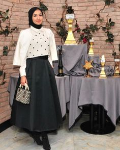 Muslim Dress, Hijab Dress, Hijab Fashion, Dresses, Style, Vestidos, Swag, The Dress, Dress