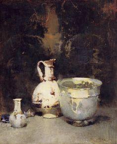 """""""Roman Bowl"""" Emil Carlsen"""
