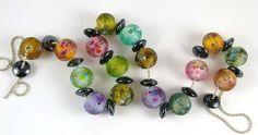 Tutti Frutti Bead Set Tutti Frutti, Beaded Rings, Lampwork Beads, Glass Beads, Jewelry Making, Creative, Crafting, Inspiration, Beauty