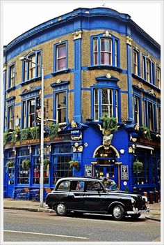 """Famous """"Shipwright's Arms Pub"""" in London, England ~ Photo by Ebingul ~ Pub is just a stone's throw from Tower Bridge"""