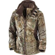 High-tech performance and form-fitting style best describe our Women's Performance Fit Jacket. This will be the warmest jacket a female hunter will own, since it is constructed with our patented ArcticShield heat retention technology. Not only does this technology capture and return up to 90% of your body heat and stop the cold from penetrating, it also is non-bulky making it easier to draw a bow or shoulder a gun. The micro suede jacket offers a tailored fit while still providing full fr…