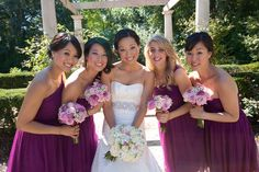 Sophisticated Plum Wedding by Kamila Harris Photography