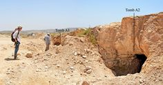 Cemetery with over 100 tombs from 2200-650 BCE shows prehistoric Bethlehem was a rich town situated along important trade routes.