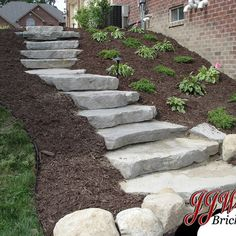 Check out this important graphic and also browse through today strategies and information on Hillside Landscaping Ideas Sloped Backyard Landscaping, Sloped Garden, Landscaping With Rocks, Landscaping Ideas, Sidewalk Landscaping, Burm Landscaping, Patio Ideas, Sidewalk Ideas, Firepit Ideas