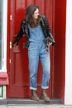 2014... dungarees and old boots...