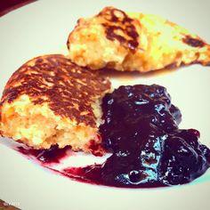 Glutén mentes pancake a la Kristof Steiner :) Vegetarian Recipes, Healthy Recipes, Paleo, Pancakes, Clean Eating, Gluten Free, Sweets, Vegan, Cooking