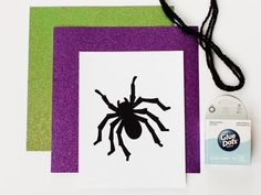 Download, Print and Cut-Out Spiders