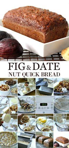Fig & Date Nut Bread | Grateful Prayer | Thankful Heart