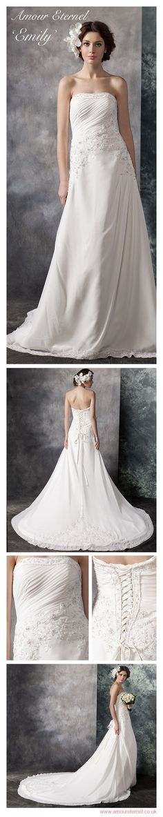Wedding Dresses with WOW factor | Emily by Amour Eternel | www.amoureternel.co.uk
