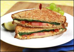 Guilt-Free Grilled Cheese Recipes | Hungry Girl