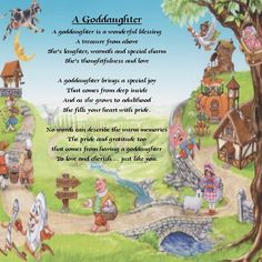Godmother To Goddaughter Poems Goddaughter Plaque