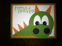 Stampin' UP Darling Dragon Birthday Card KIT | eBay