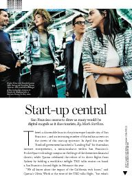 Vogue Australia October 2016: Vogue Codes: Start-up central