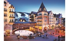 Arrabelle at Vail Square, Colorado: The Alderhof Ice Rink—located in the middle of Vail Square—is a picturesque spot to skate.