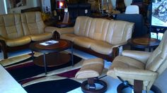 We also have Ekornes sofas in stock!