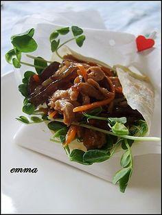 蔬食荷葉餅