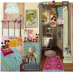 Flea market style by suzieladybug on Polyvore featuring interior, interiors, interior design, home, home decor, interior decorating, Disney, Gypsy, Pied a Terre and Monsoon