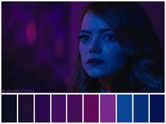 Image about dark in La La Land aesthetic. Movie Color Palette, Colour Pallette, Michael Keaton, Moonrise Kingdom, Cinema Colours, Color In Film, Damien Chazelle, Color Script, Film Inspiration