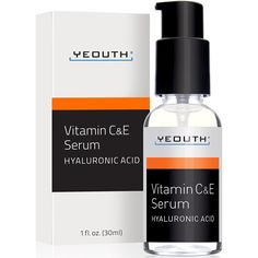 YEOUTH Vitamin C Serum For Day with Vitamin E and Hyaluronic Acid Serum, Anti Wrinkle, Fill Fine Lines, Evens Skin Tone, Fades Age Spots, Medical Grade Anti Aging Skin Care Products         * You can find more details by visiting the image link. (This is an affiliate link) #BeautyPersonalCare
