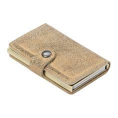 Secrid Mini Wallet Card Holder - Champagne Glamour