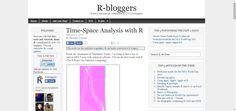 Time-Space Analysis with R   (R news
