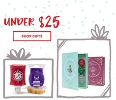 Gifts under $25! Order now by December 19th to have ready in time for Christmas ☃️