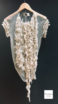 #thelibrary1994 #Marc Le Bihan @ The Library 1994 #Tulle #top #ladies #delicate #blouse #Marc_Le_Bihan #MLB #womens #unique #fashion #wearableart #iamunique #Chelsea #London I Am Unique, Chelsea London, Ml B, Getting Old, Unique Fashion, Wearable Art, Tulle, Delicate, Boutique