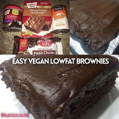 Check out our latest video Easy Lowfat Vegan Brownies! These are so simple to make and they are delicious and moist unlike a lot of other vegan brownies. We baked them in our camper too! Video is up on our YouTube channel Vegan Traveling Tribe. #crueltyfree #govegan #veganbrownies #dairyfree #eggfree #vegan #campercooking #camperbaking #lowfat by vegantravelingtribe