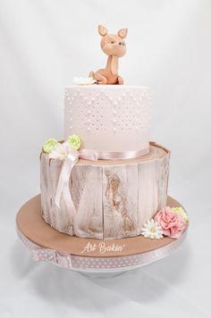 BabyShowerCake - Cake by Art Bakin'