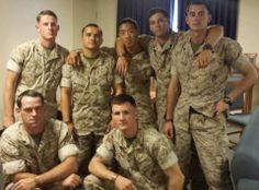 HeroBracelets. 3/5 Marines and their Spartan #HeroBracelets #Heroes