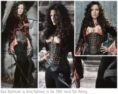 Kate Beckinsale as Anna Valerious in the 2004 movie Van Helsing.